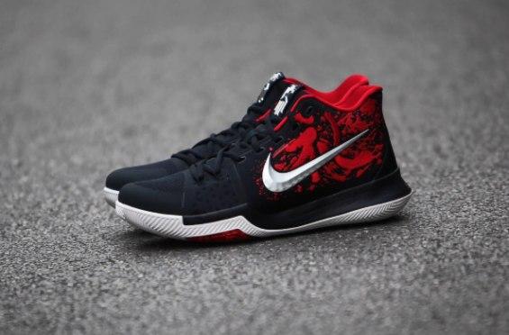 Баскетбольные кроссовки NIKE KYRIE 3 \u0027SAMURAI\u0027